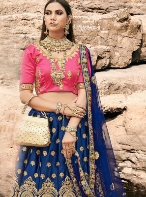 Silk Ceremonial A Line Lehenga Choli