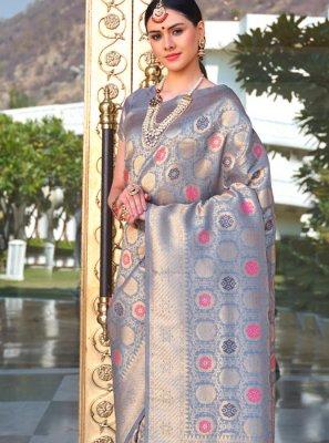 Silk Ceremonial Designer Saree
