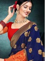 Silk Contemporary Saree