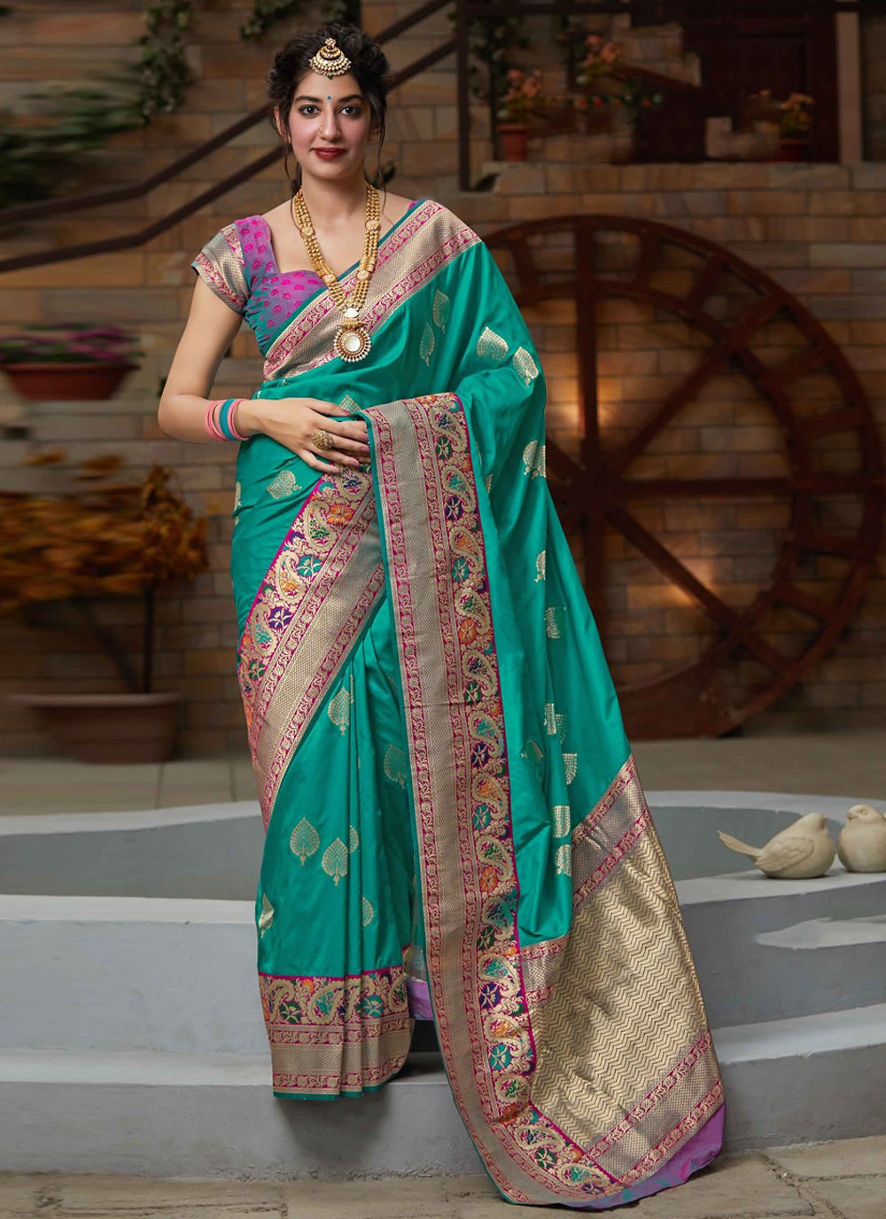 Silk Festival Designer Bollywood Saree
