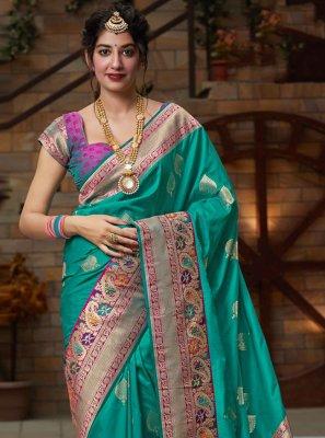 Silk Festival Designer Bollywood Saree