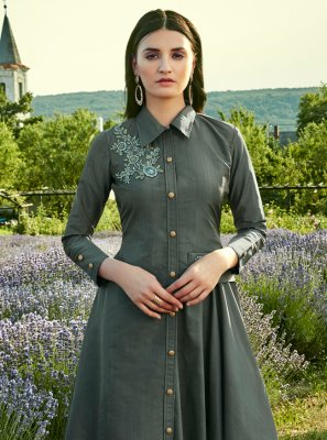 Silk Festival Designer Gown