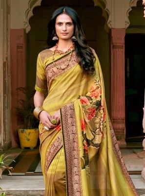 Silk Festival Designer Saree