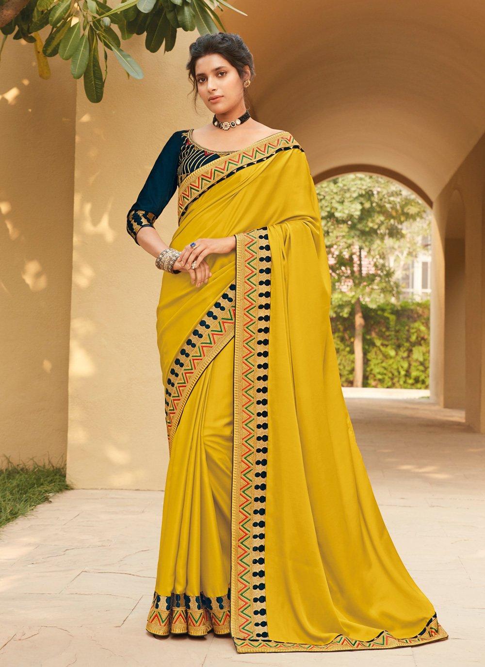 Silk Lace Classic Saree