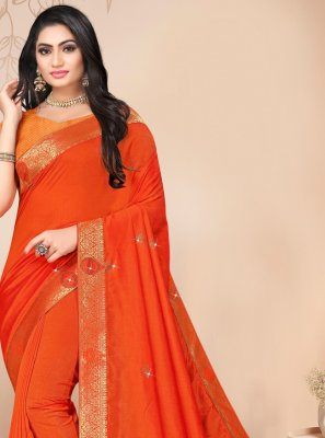 Silk Lace Trendy Saree