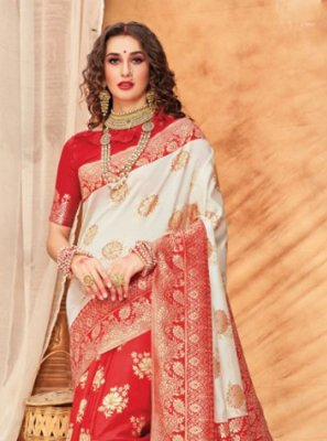 Silk Multi Colour Classic Saree