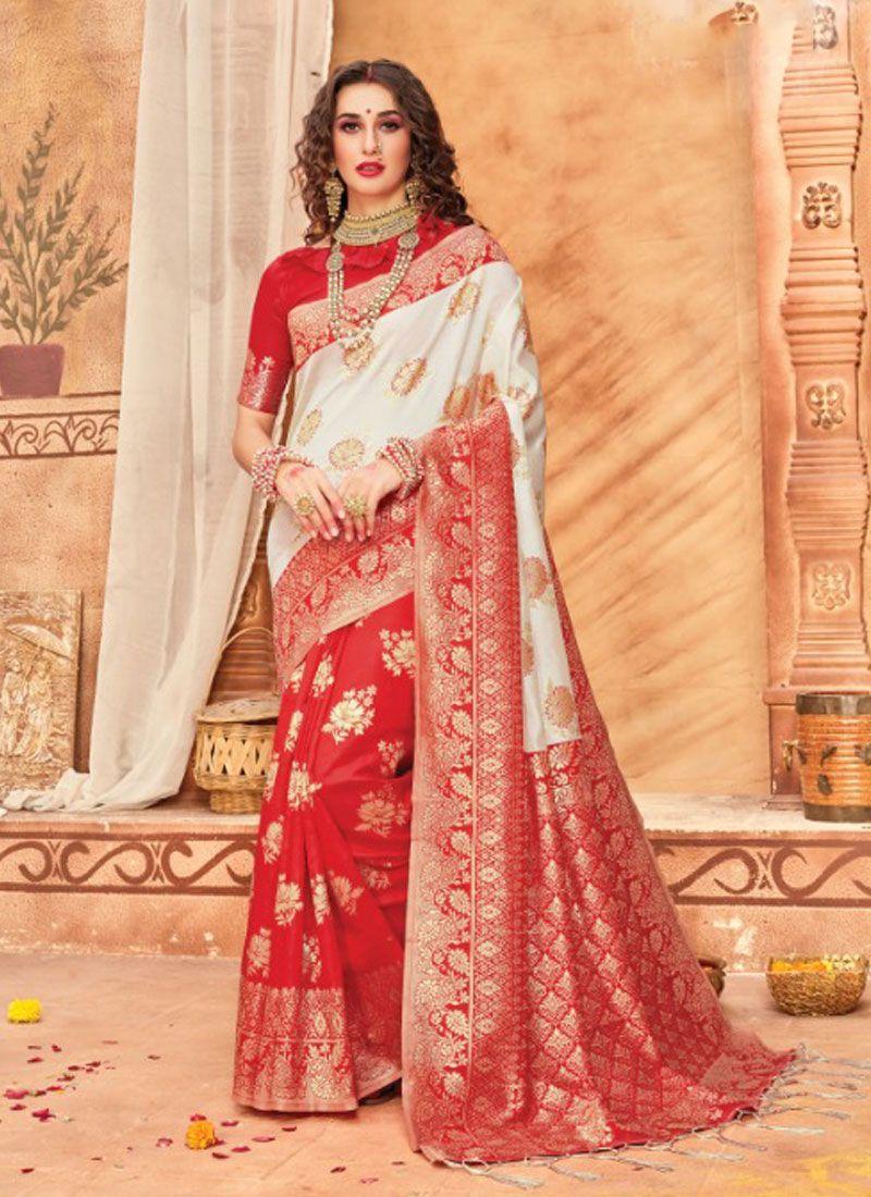 Silk Multi Colour Classic Saree
