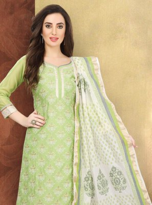 Silk Multi Colour Designer Salwar Kameez