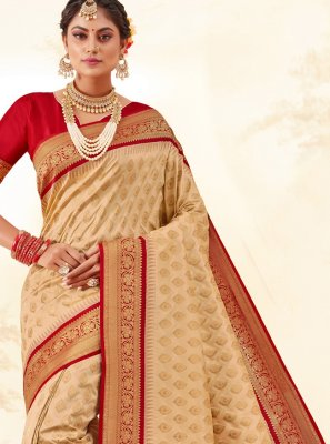Silk Multi Colour Weaving Classic Saree