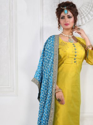 Silk Party Salwar Suit
