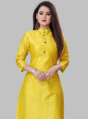 Silk Party Wear Kurti
