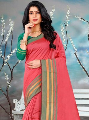 Silk Plain Classic Saree