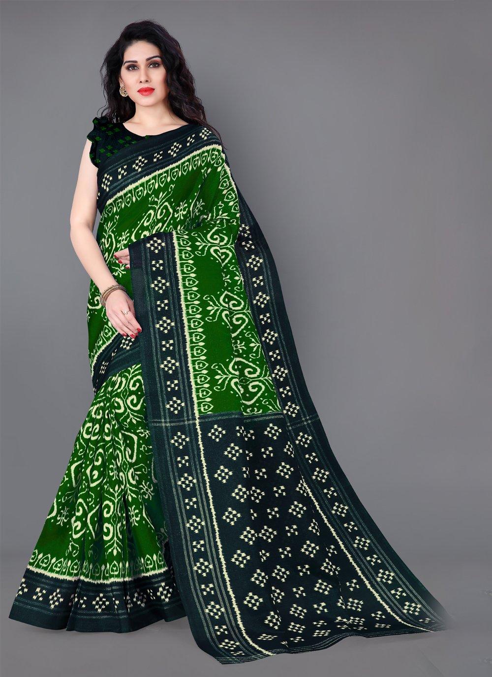Silk Printed Casual Saree