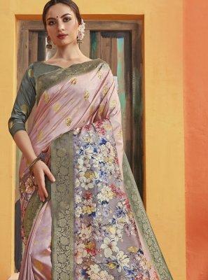 Silk Printed Classic Saree