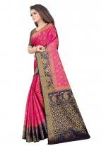 Silk Rani Designer Saree