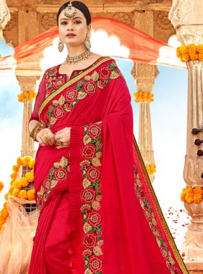 Silk Reception Classic Designer Saree
