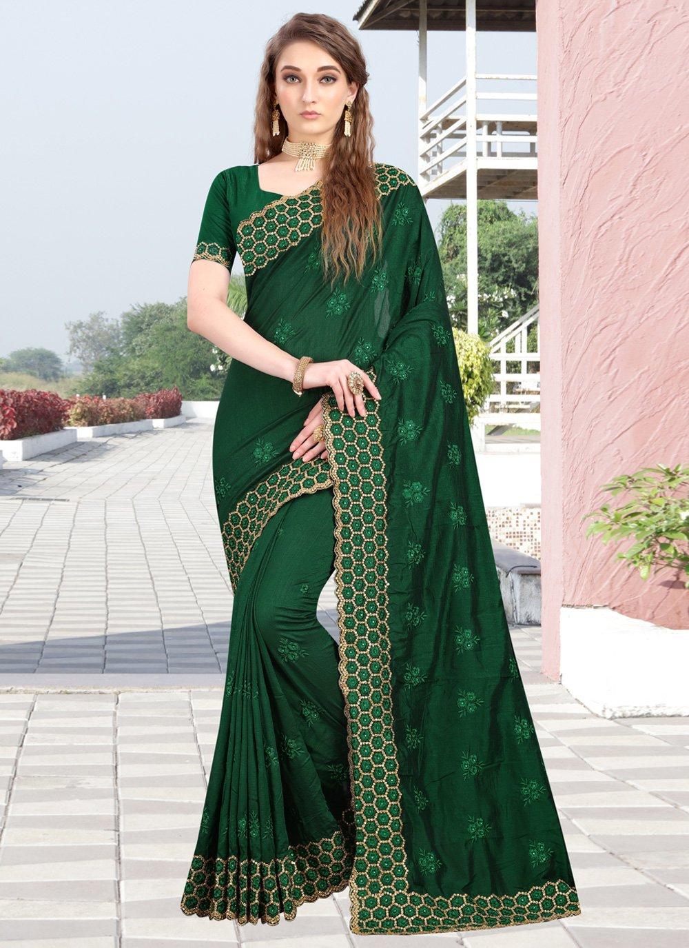 Silk Reception Designer Contemporary Saree