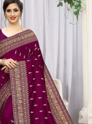 Silk Reception Silk Saree
