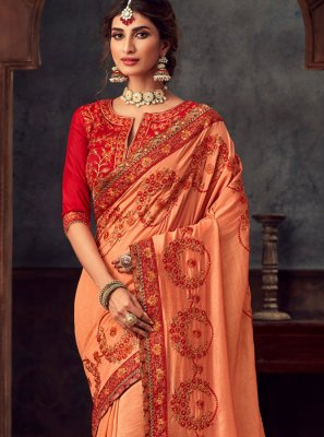 Silk Reception Trendy Saree