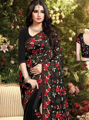 Silk Resham Classic Saree