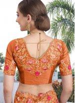Silk Resham Contemporary Saree
