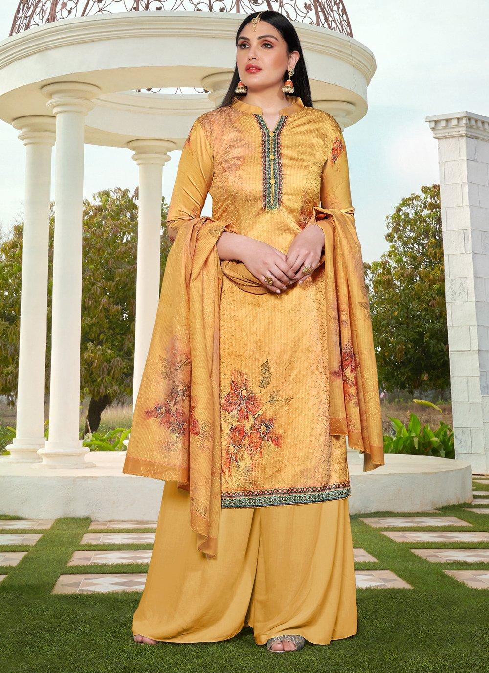 Silk Resham Salwar Suit