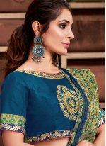 Silk Resham Trendy Saree