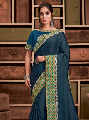 Silk Resham Trendy Saree