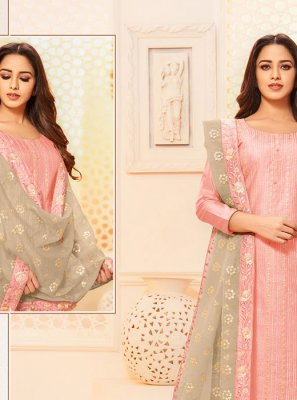 Silk Thread Salwar Kameez
