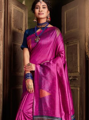 Silk Weaving Classic Saree