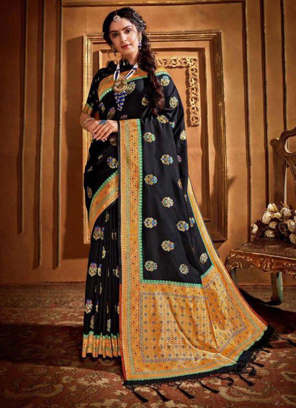 Silk Weaving Contemporary Style Saree