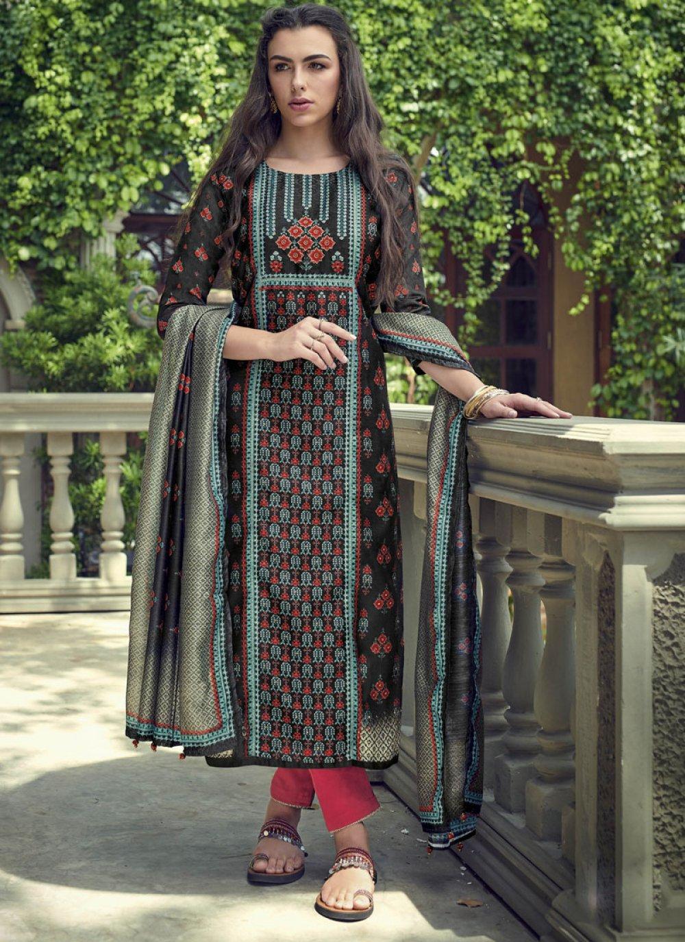 Silk Wedding Pakistani Salwar Suit