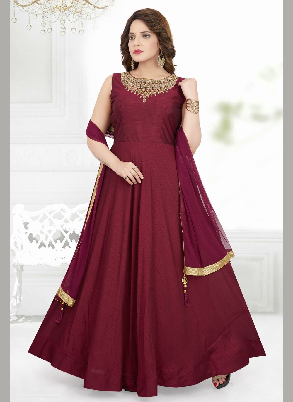 Silk Wedding Salwar Suit