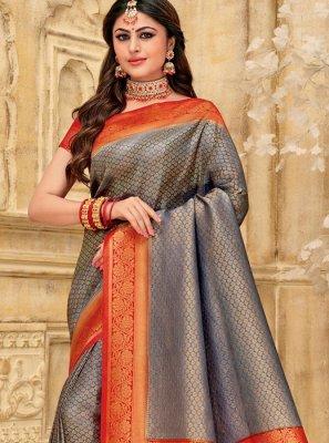 Silk Woven Classic Saree