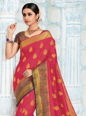 Silk Woven Trendy Saree