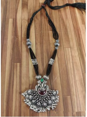 Silver Color Necklace Set