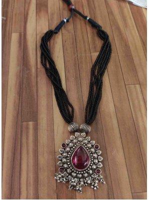 Silver Festival Necklace Set