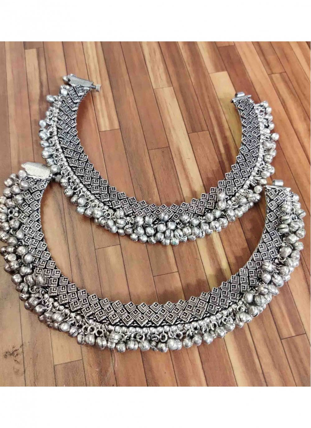 Silver Party Anklet
