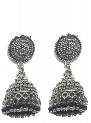 Silver Reception Ear Rings
