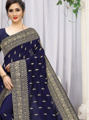Stone Work Festival Trendy Saree