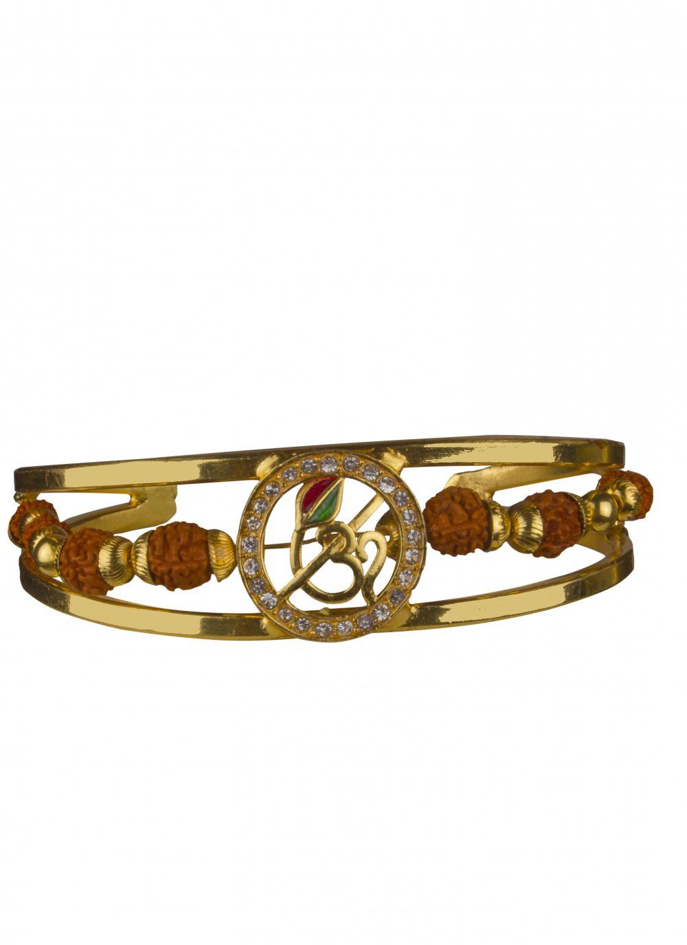 Stone Work Gold Bracelet