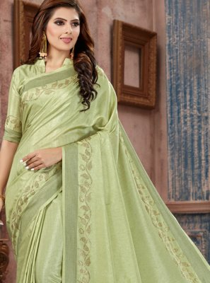 Stone Work Party Classic Saree