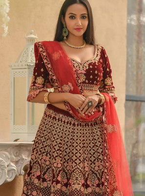 Stone Work Trendy Lehenga Choli