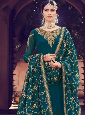 Teal Salwar Suit