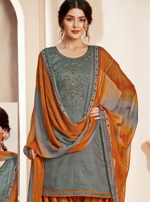 Thread Cotton Salwar Suit