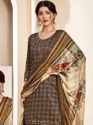 Thread Cotton Salwar Suit