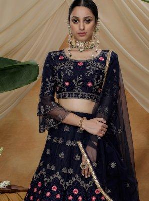 Thread Engagement Trendy Lehenga Choli