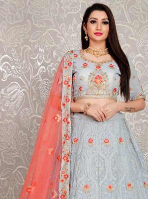 Thread Trendy Designer Lehenga Choli