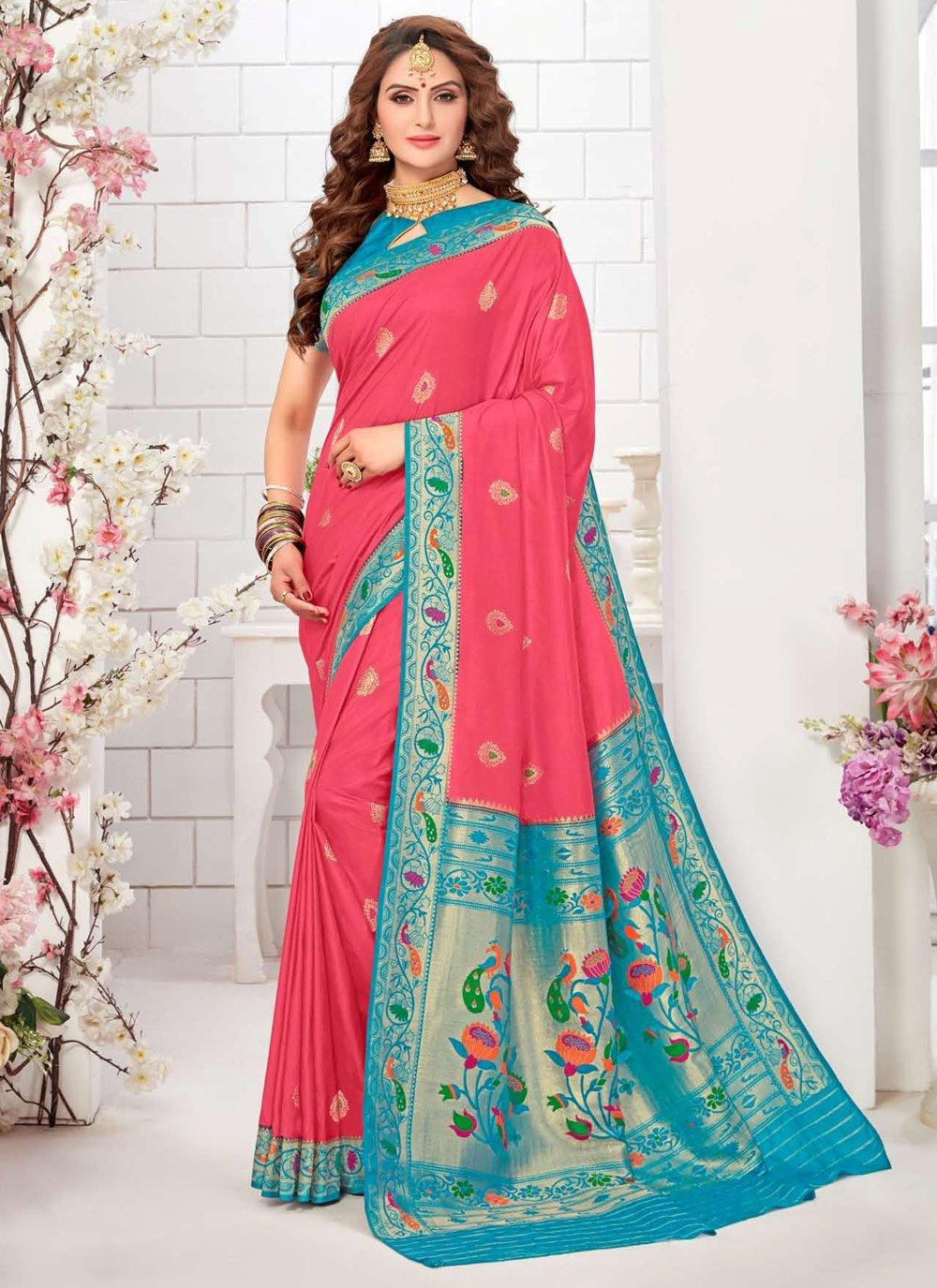Traditional Designer Saree For Reception