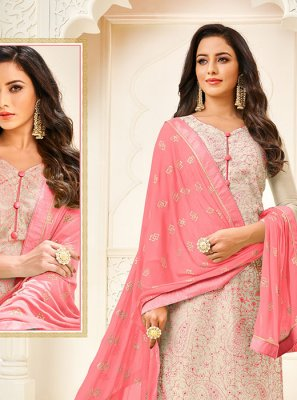 Trendy Churidar Salwar Suit For Casual